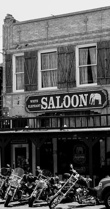Stockyards, Fort Worth, Texas  At the White Elephant Saloon, one if te oldest saloons still in operation. This is called Taking a Break at the Old Watering Hole.