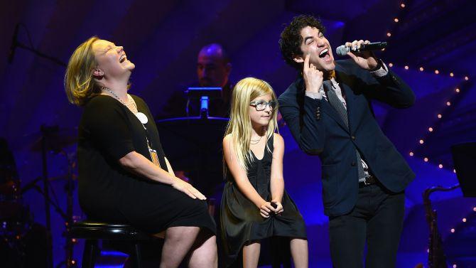 Tina Fey, Darren Criss, Megan Hilty Shine at Broadway Benefit For Foster Care Org