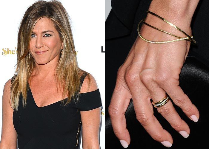 Gorgeous Celebrity Engagement Ring And Wedding Bands