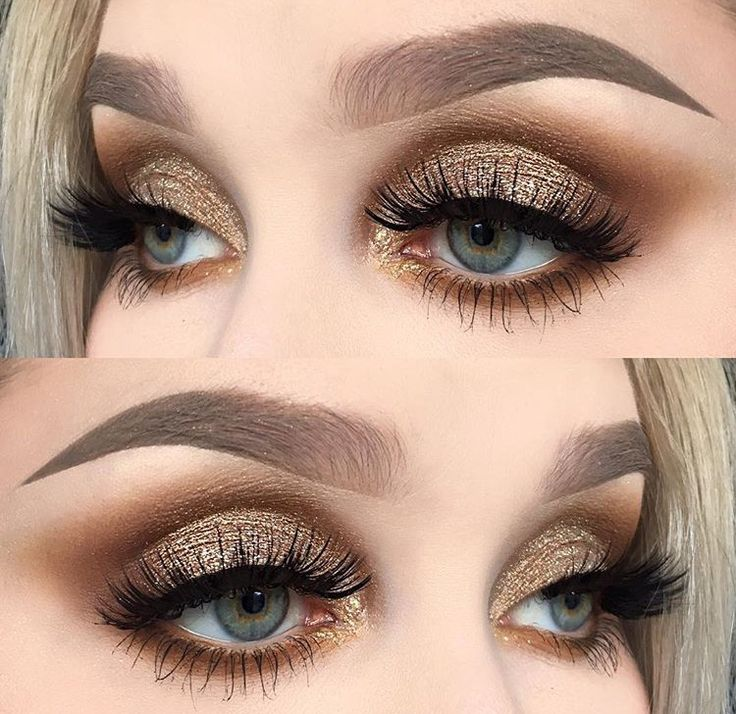 17+ best ideas about Gold Eye Makeup on Pinterest ...