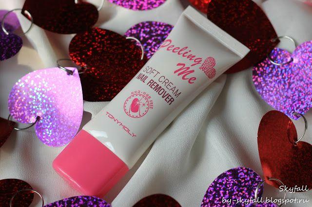 Beauty addicted: Крем для снятия лака Tony Moly Peeling Me Soft Cream Nail Remover