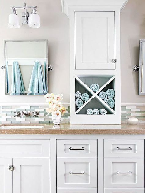 25 best ideas about bathroom storage solutions on - Bathroom vanity storage solutions ...