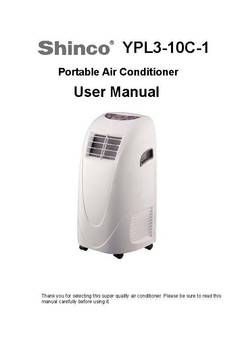 Global Air YPL3-10C 10,000-BTU 3 in 1 Portable Air Conditioner with Dehumidifier, Fan and Remote - Walmart.com