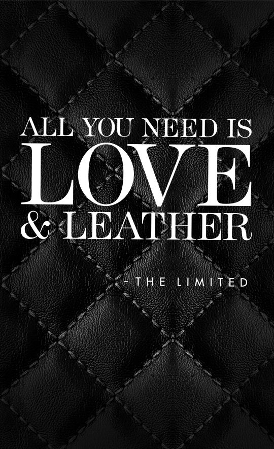 Image result for quotes about leather