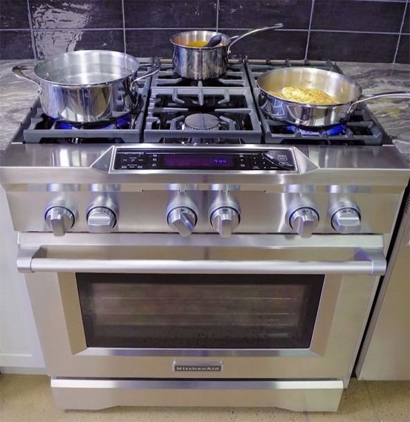 36 Inch Range Kitchenaid In 2020 Gas Stoves Kitchen Best Gas Stove Gas Stove With Oven