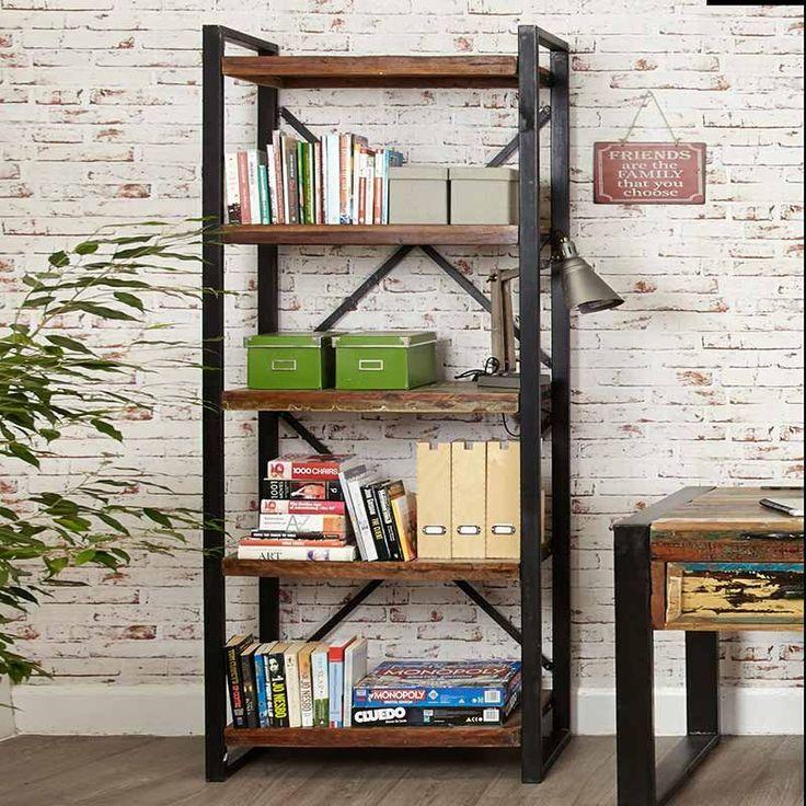 17 migliori idee su open bookcase su pinterest   scaffali ... - Soggiorno Urban Chic 2