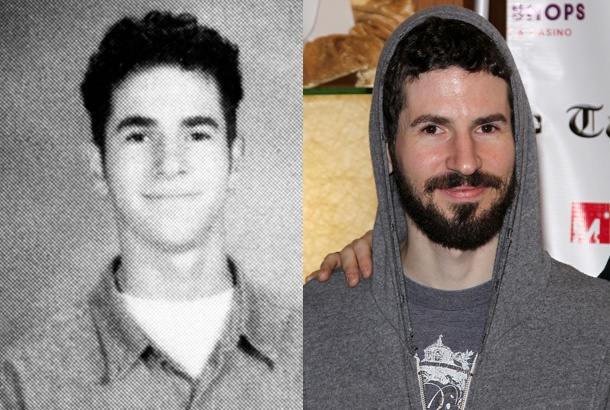 Brad Delson in a Junior Yearboook Photo at Agoura High School in Agoura, California (1994), and Brad Delson Today