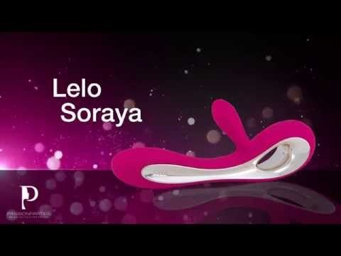 Lelo Soraya! Dual Action Vibrator with a revolutionary design. No more batteries this bad boy charges with a simple wall plug!