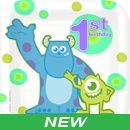 Monsters Inc 1st Birthday Party Supplies