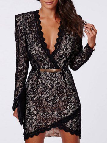 stunning lace dress!