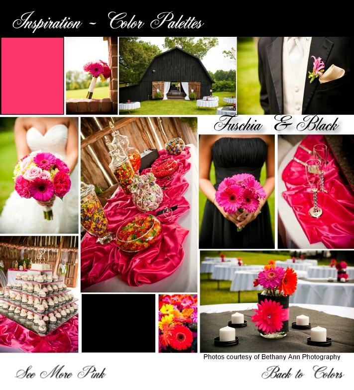 ClarksvilleBrides.com Color Palette