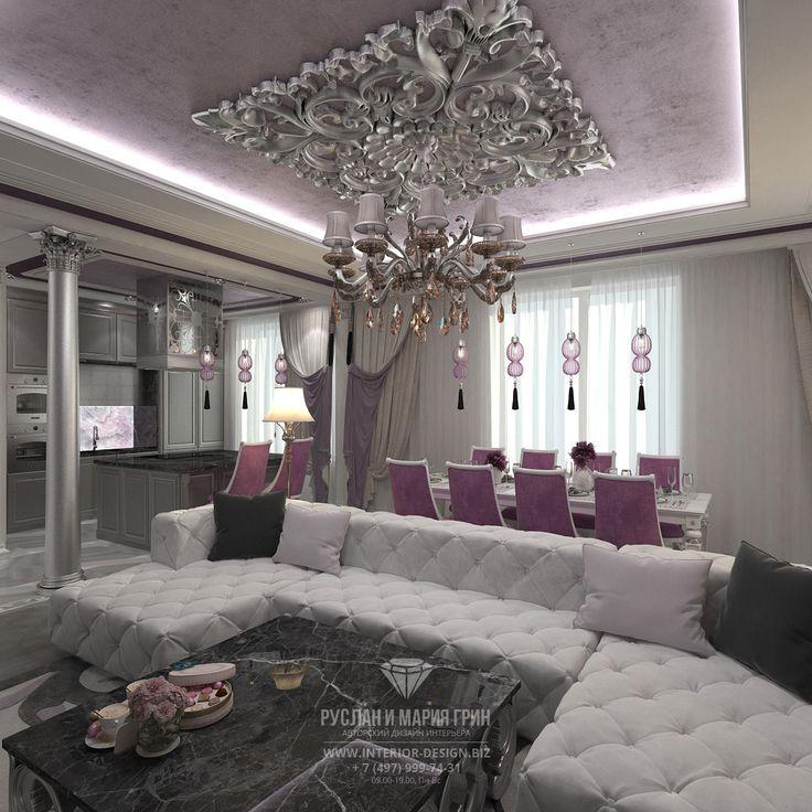 Фото интерьера гостиной в квартире
