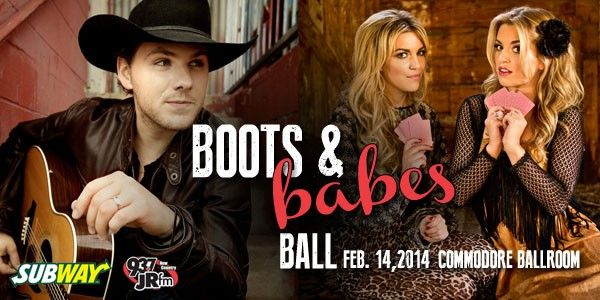The Boots & Babes Ball: One More Girl & Brett Kissel at the Commodore