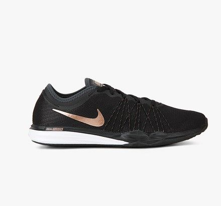 Black is the best and nobody knows it better than the females. And Nike just made it easier for the eves to sport different shades of black while training too mingled with a dash of metallic pink. The brand new Dual Fusion Tr Hit Black Training Shoes from the American company mixes style with comfort. …