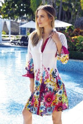 Пляжная блуза ICONIQUE, 100% хлопок