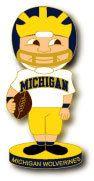 Michigan Bobbling Head Pin