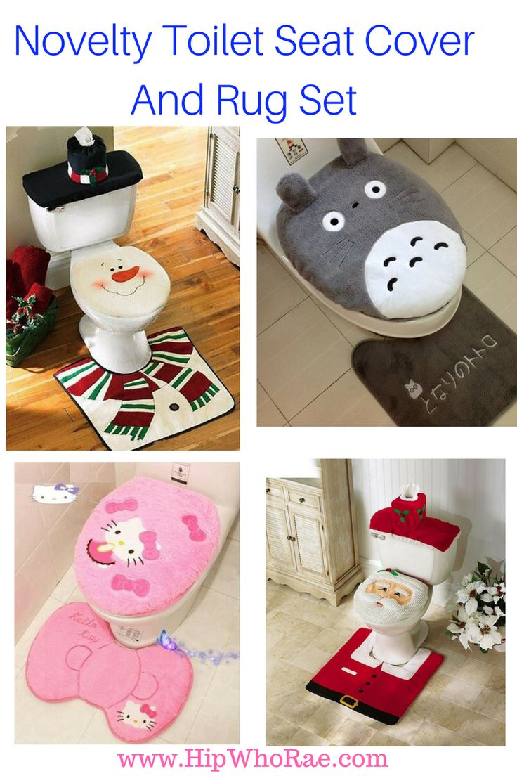 Halloween is just around the corner then Christmas why not get some Novelty Toilet Seat Cover and Rug Sets to add a little bit of humor to your…