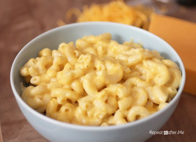 Repeat Crafter Me: Crock Pot Mac and Cheese