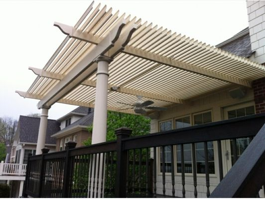 Deck roof similar to awning design awnings pinterest for Roof awning design