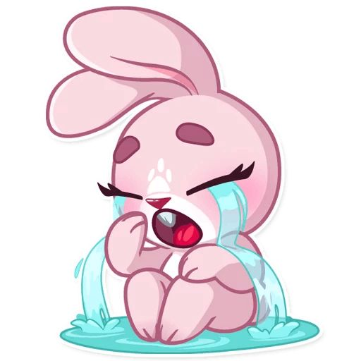 самое картинки зайца который плачет минимум без грязи