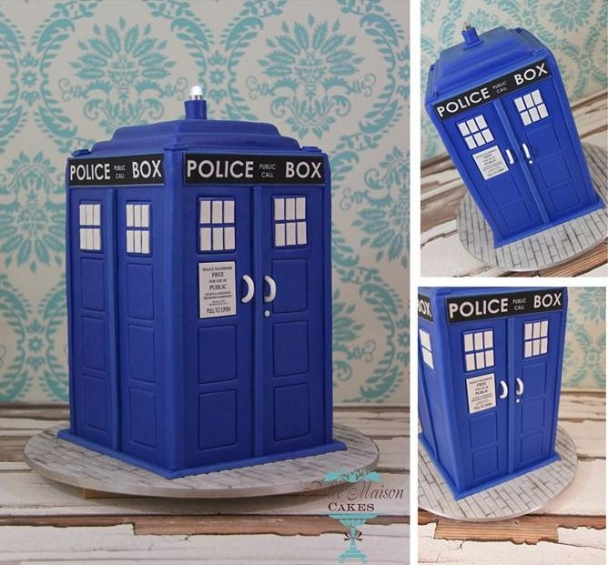 58 best Doctor Who Cakes images on Pinterest Tardis cake Cakes