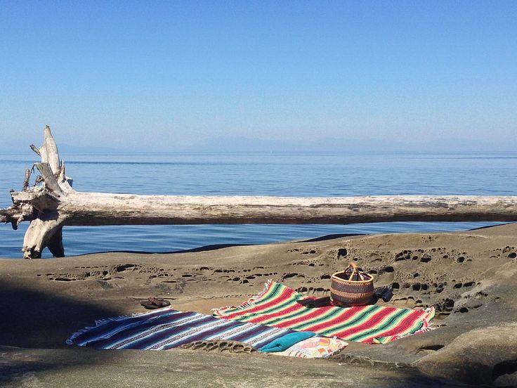 Galiano Island, Salish Sea - Sandstone Beach, Salish Sea  'Two Penguins' - Gorgeous, Private Oceanfront... - VRBO