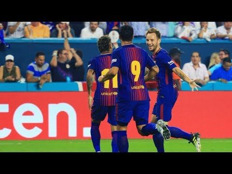 Barcelona vs Real Madrid 3-2 | All Goals | International Champions Cup 2017 - VER VÍDEO -> http://quehubocolombia.com/barcelona-vs-real-madrid-3-2-all-goals-international-champions-cup-2017   	 Highlights 30-7-2017 International Champions Cup 2017 Barcelona 3-2 Real Madrid Barca vs Real 3-2 1-0 Lionel Messi 2-0 Ivan Rakitić 2-1 Mateo Kovačić 2-2 Marco Asensio 3-2 Gerard Piqué  All Goals Highlights GOLES RESUMEN	 Créditos de vídeo a Popular on YouTube – Colombia