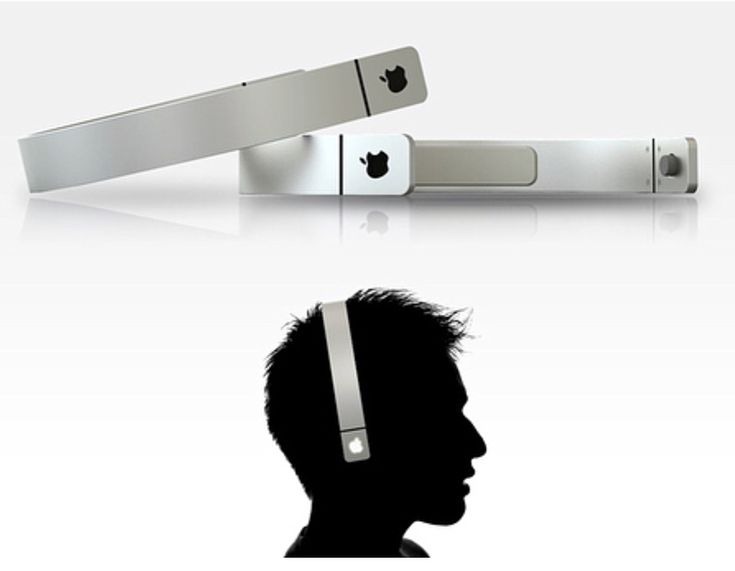 Simply the Apple Hairbands by Sang-hoon Lee Credit :  Comment below   _  Keeping with the tradition of simplistic minimal design Sang-hoon Lee has designed his vision for the Apple Headphones. Looks more like a hairband with a sleek finish. I think the touch of volume controls within the glowing apple logo is just too clever!  _  #apple #iphone #ipad #futuristic #iphonex #simply #iphone8 #vr #clever  #nano #concept #a11bionic #iOS #control #iphone10 #iphone8plus #iphone9 #headphones #luxury…