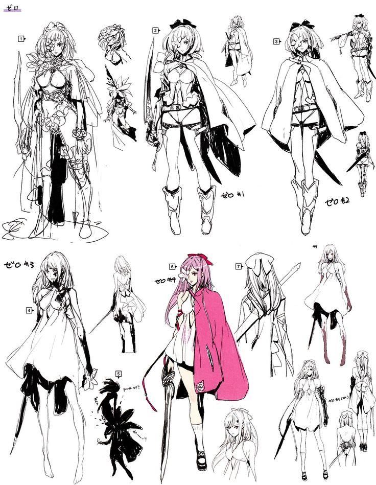 Drakengard 3 Concept arts http://pwinsu.tumblr.com/post/89252826186/drakengard-3-concept-arts