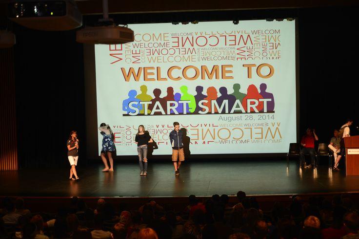 Start Smart Aug 28th, 2014.