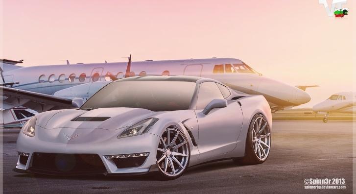 2014 Chevrolet Corvette C7 Stingray ZR1 Rendering Released