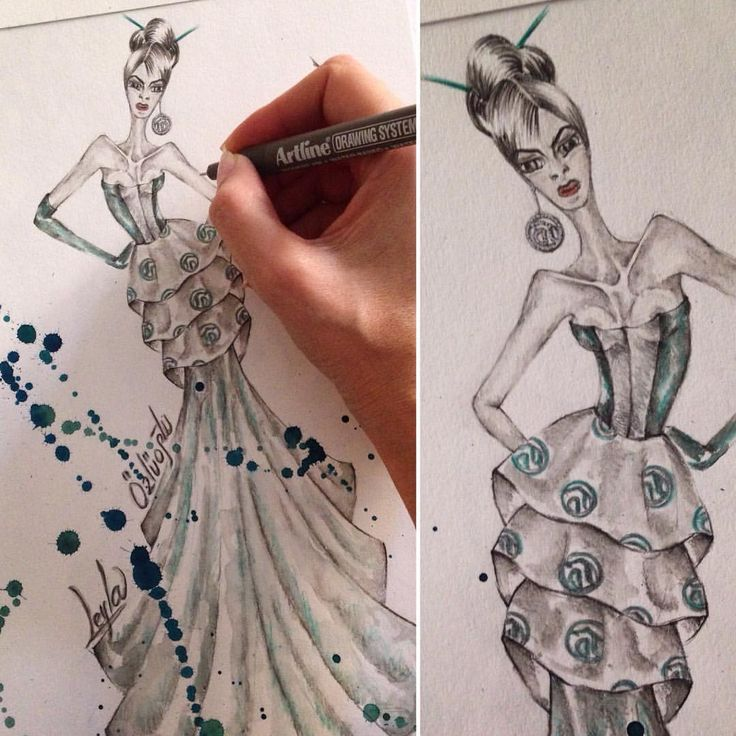 #art #illustration #drawing #draw #fashion... - LEYLA ÖZLÜOĞLU