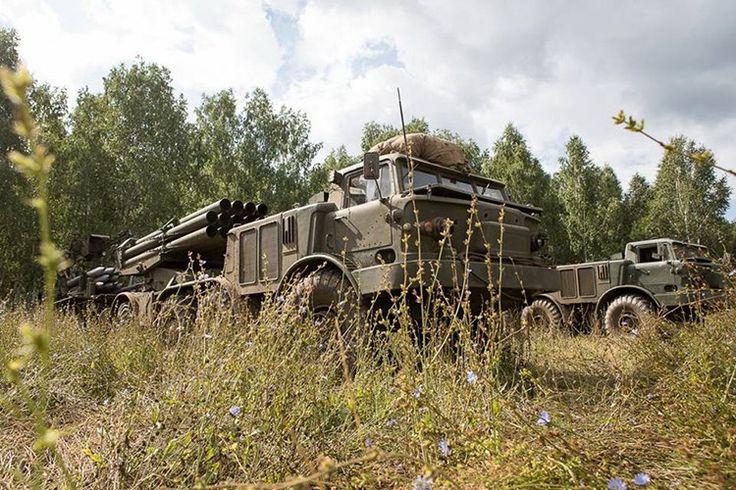 Xuất hiện sau BM-21 Grad hơn 10 năm, BM-27 Uragan là tổ hợp pháo phản lực phóng loạt hạng nặng thế hệ đầu tiên của Liên Xô khi có được trang bị tới cỡ nòng 220mm gần gấp đôi so với BM-21. Nguồn ảnh: Bộ Quốc phòng Nga.