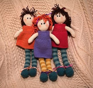 Adorable Ragdoll by Debbie Bliss - Free pattern on Ravelry