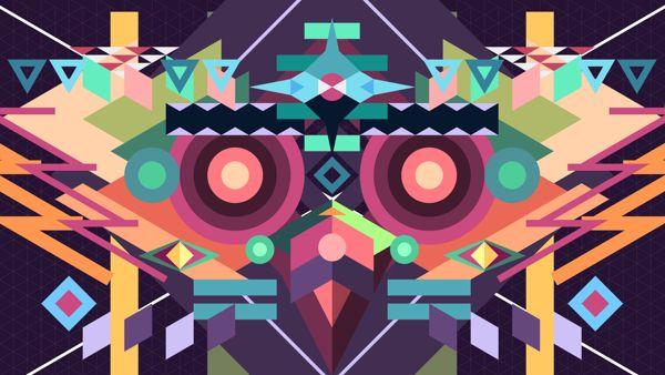 BIRDMASK Visuals by Neal Coghlan, via Behance