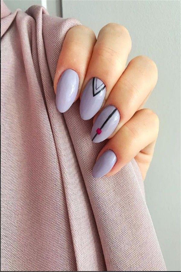 30 Awesome Geometric Nail Art Designs Trendy Ideas Trendy Nail
