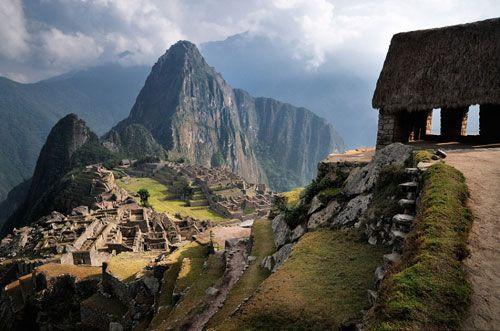"Machu Picchu. I've wanted to see it myself since watching ""Diarios de Motocicleta""."