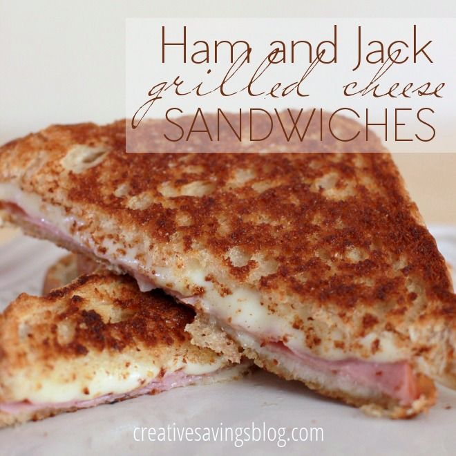 This gourmet twist on the grilled cheese sandwich is perfect for a quick lunch or week-night meal. The ham satisfies almost every meat lover, Ranch dressing provides a bit of a bite, and the complimentary Monterey Jack cheese oozes in all the right places. It`s your greasy spoon fix without spending a ton of cash!