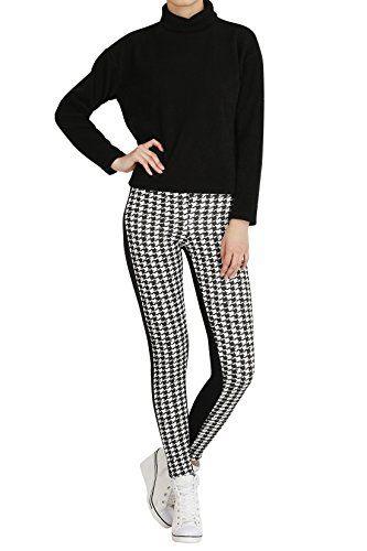Hipsteration Womens Houndstooth Pattern Leggings Ivory, M Hipsteration http://www.amazon.com/dp/B01AXHE7S0/ref=cm_sw_r_pi_dp_NVBOwb1VTKC3A