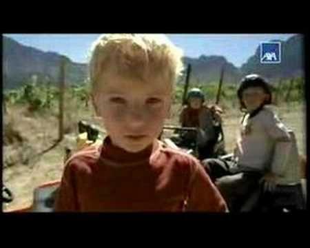 Werbung - AXA - Kfz-Versicherung - Kindheitsgefühl (2007) - Billige Kfz Versicherung - Jetzt vergleichen und sparen - Billige Kfz Versicherung
