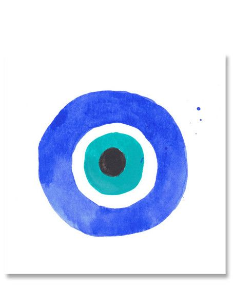 Evil Eye I Mini Art Print                                                                                                                                                                                 More