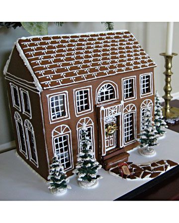 I love this! Every Christmas my mother and I would ogle at the gingerbread houses in Southern Living when I was little and our favorites are still in a huge recipe box!