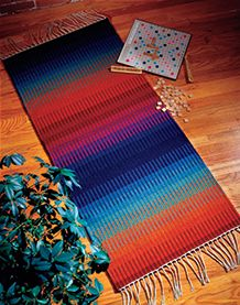 Want to weave a gorgeous, durable rug? Learn about a rug weaving eBook that will inspire and instruct you as you weave a variety of rugs.