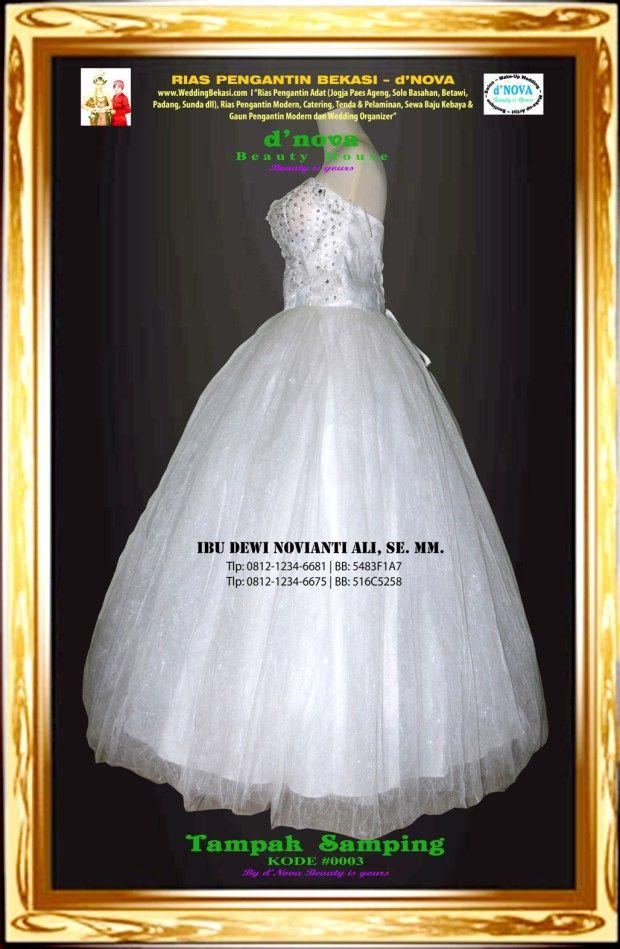 Sewa Gaun Pengantin Rias Pengantin Bekasi Dnova Bridal 0003b