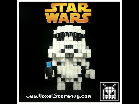 (Voxel) How to Make a 3D Stormtrooper - YouTube