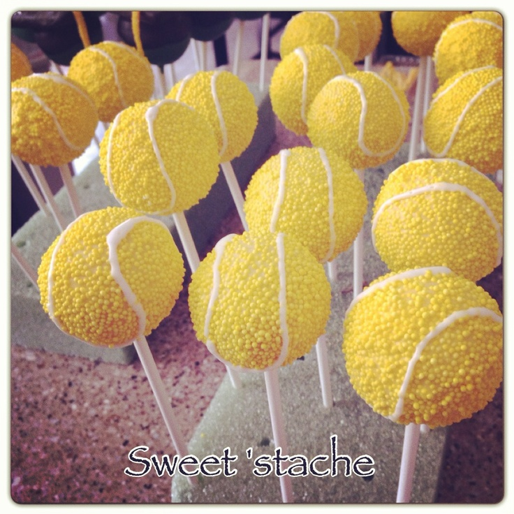 Tennis Ball Cake Pops. I will spend however much time necessary to create these adorable treats for the US Open. @Kathleen Johnson