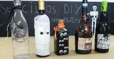 Cómo decorar tus botellas de vino para la cena Halloween