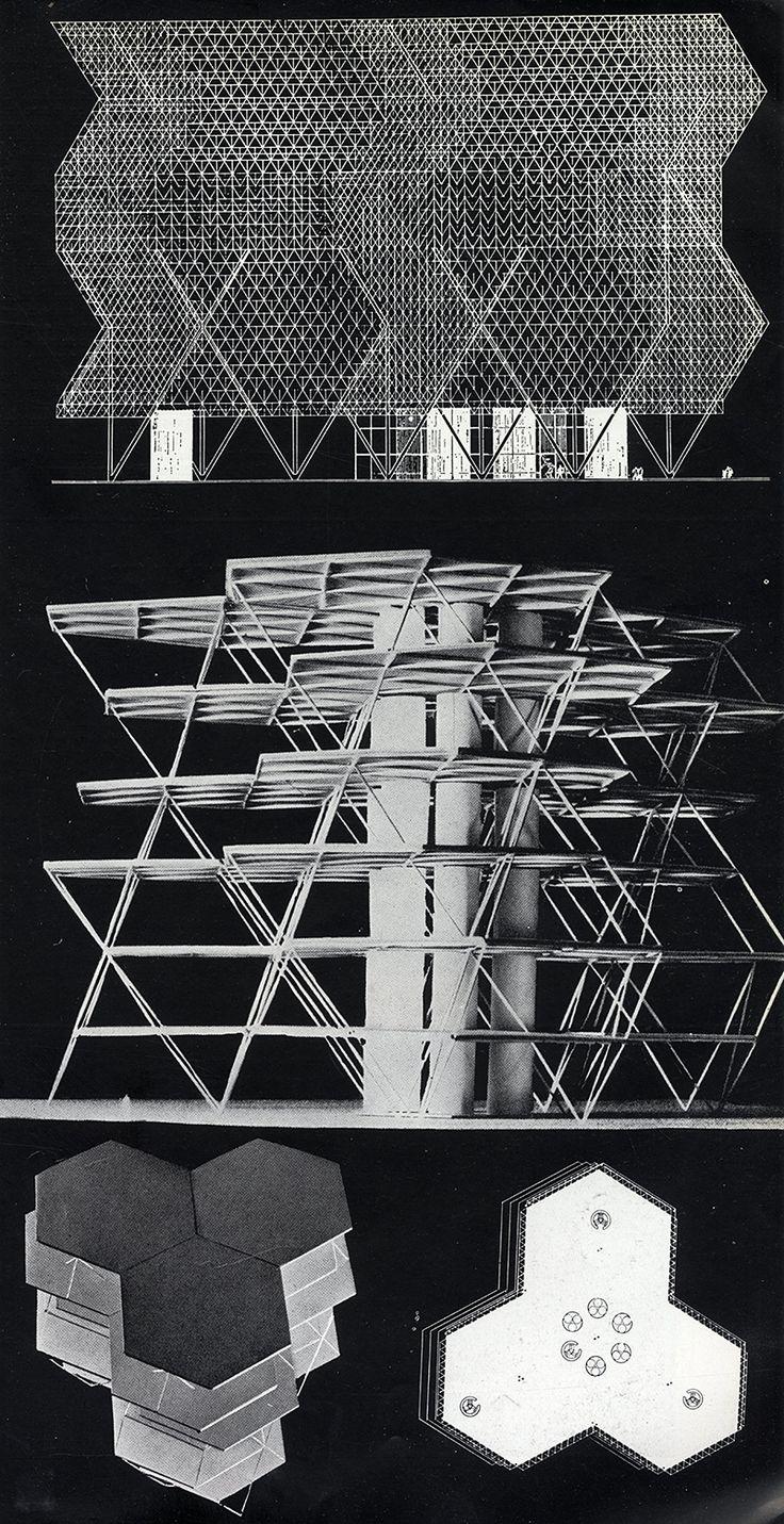 Konrad Wachsmann. Architecture D'Aujourd'Hui v. 25 no. 55 Jul 1954: 11