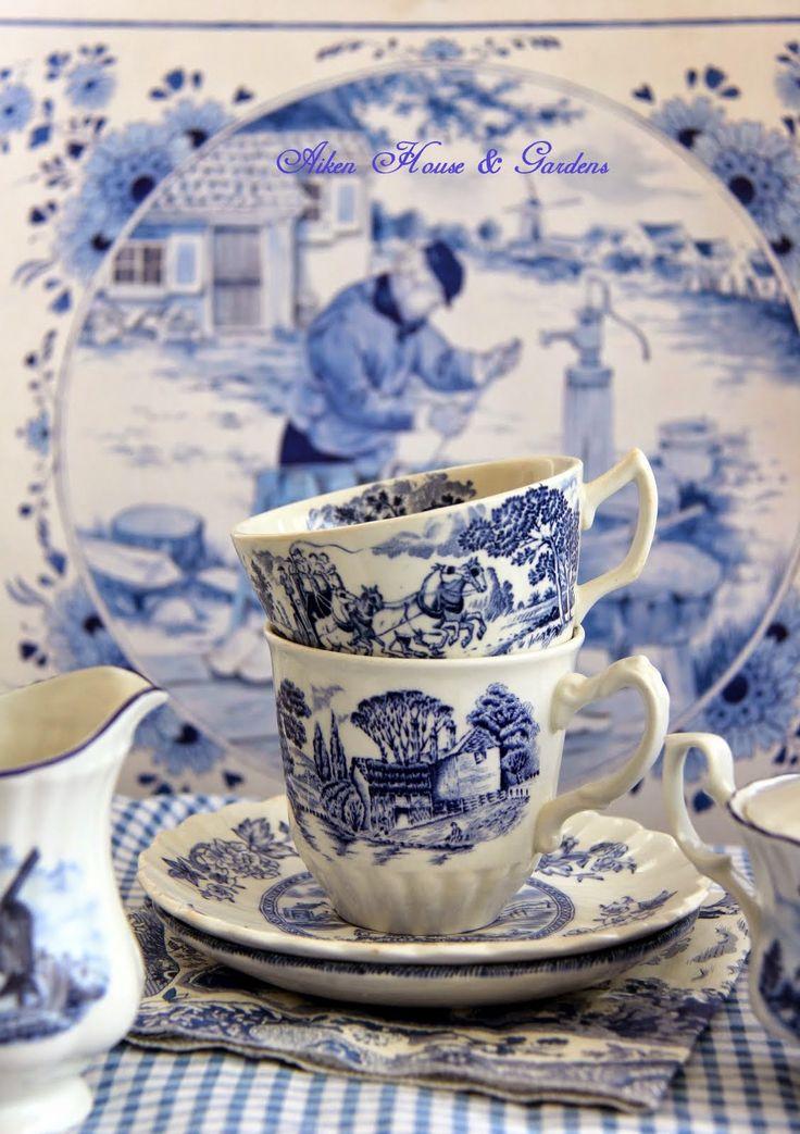 Aiken House & Gardens: A Little Bit of Dutch Blue