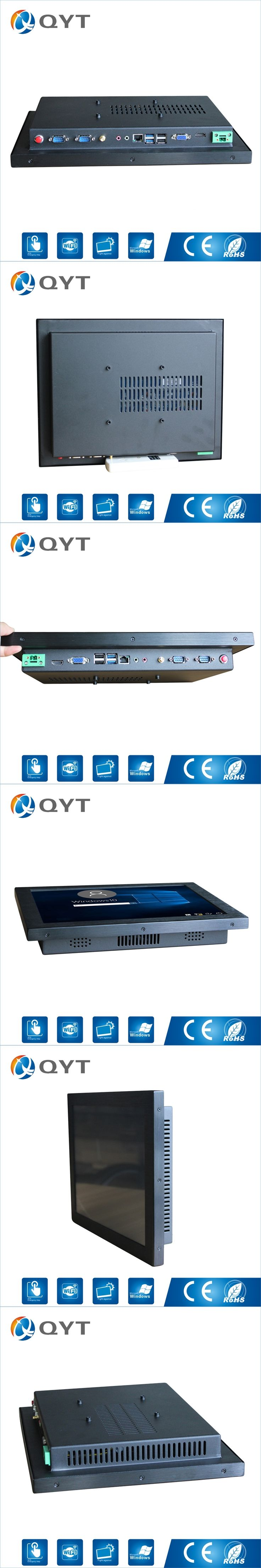 Indutrial Computer 15 Inch i5 6200U 4GB RAM 32G SSD Led Touch Screen pc All In One with 4*USB HDMI/2*RS232/RJ45/WIFI